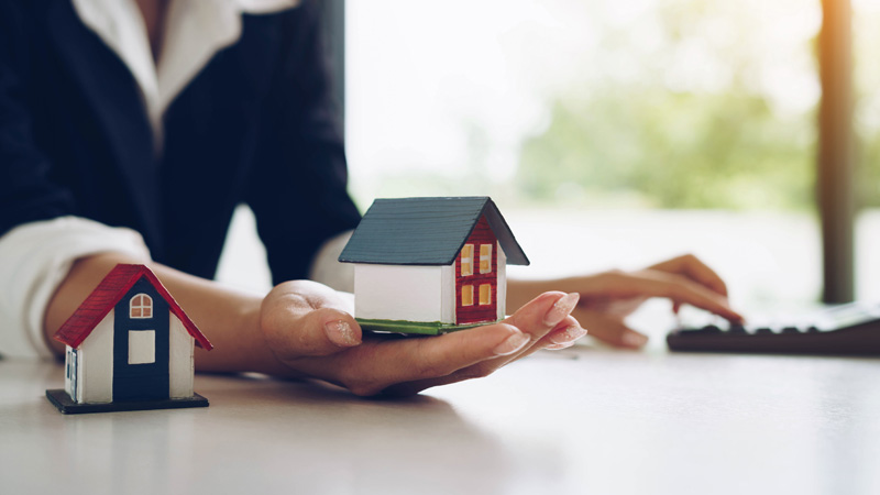 Selling a property to pay for later life care